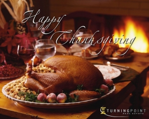Happy Thanksgiving from Turning Point Real Estate