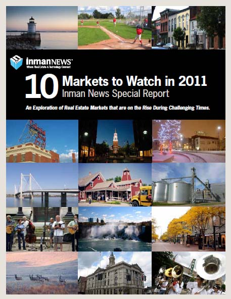 Inman News: 10 Markets to Watch in 2011